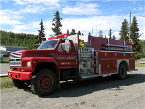 Village F.D. - Pumper Truck No.2 - Close-Up